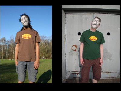 "T-Shirt ""Masking My Monkeys"" main photo"