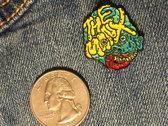 Enamel Pin (includes digital download of VOYAGE IN BAD TASTE) photo