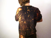 T-Shirt _ Bleach Dye _ Black (unisex) / LIMITED EDITION photo