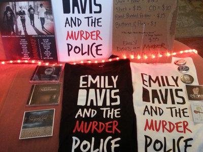 Emily Davis and the Murder Police T-Shirt main photo
