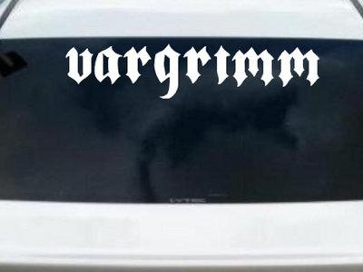 Vargrimm Heckscheibenaufkleber main photo