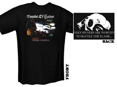 "BOMBS OF HADES ""Atomic Temples"" T-Shirt main photo"
