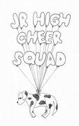 Junior High Cheer Squad image