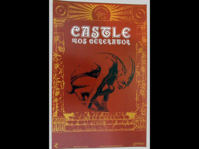Castle - West Coast Tour 2016 - Printed Tour Poster main photo