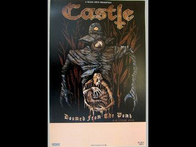 Castle - Doomed From The Womb - Printed Tour Poster main photo