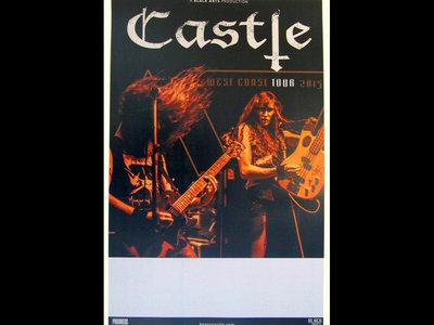 Castle - West Coast Tour 2015 - Printed Tour Poster main photo
