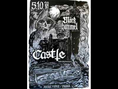 Castle - Prague, CZ, 10/5/2016 - Printed Show Poster main photo