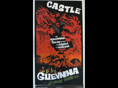 Castle - Japan Tour - Hand Screened Poster main photo