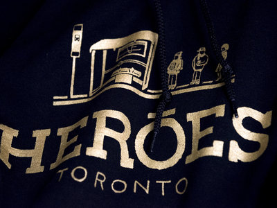 The HERŌES Hoodie // Gold Edition main photo
