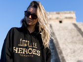 The HERŌES Hoodie // Gold Edition photo