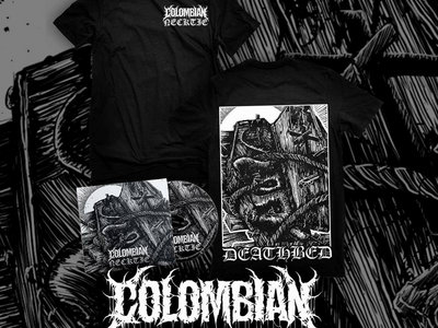Colombian Necktie - Self-titled EP [2016] T-Shirt + EP main photo