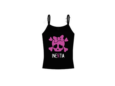 Inertia Girlie T - Pink Skull main photo