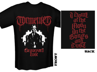 TORMENTED - Graveyard Lust T-Shirt main photo