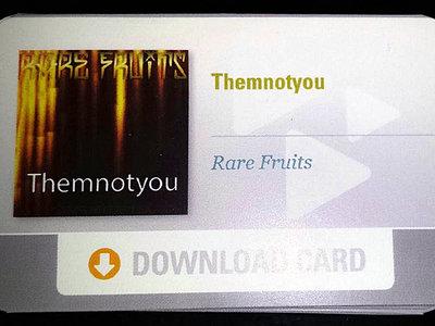Themnotyou - Rare Fruits [Prepaid Album Card] main photo