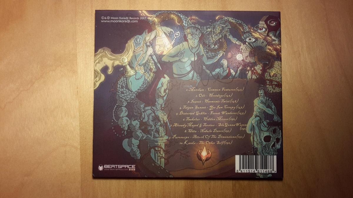 TAAKELUR - Hidden Mirror | Moon Koradji Records