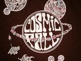 Cosmic Fall Shirt Brown photo