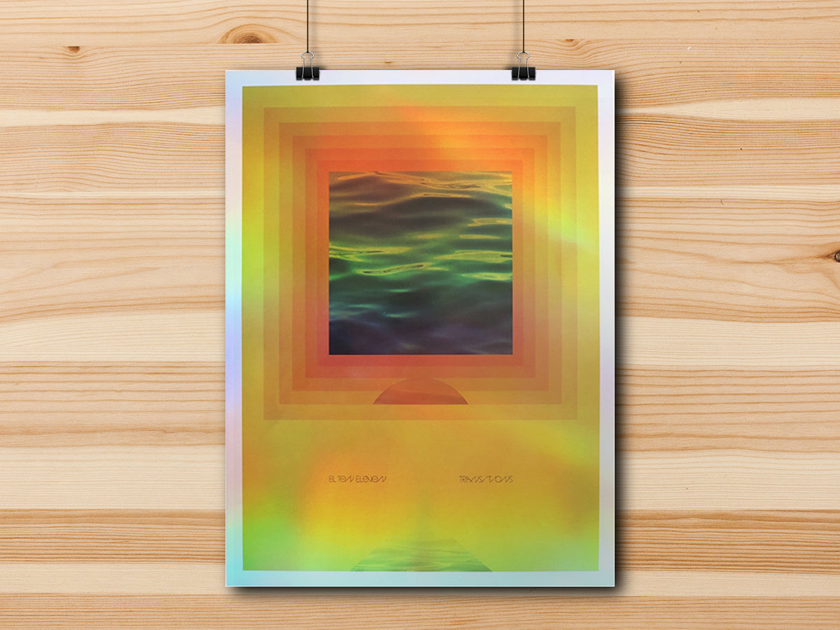 Transitions holographic print fake record label transitions holographic print main photo jeuxipadfo Images