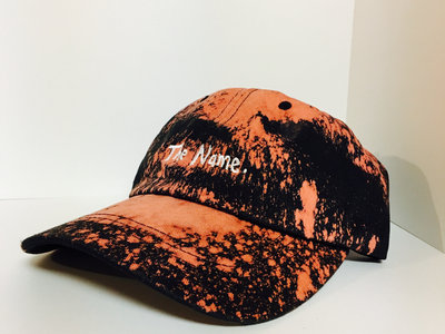 "Custom Bleached ""The Name"" Dad Hat main photo"