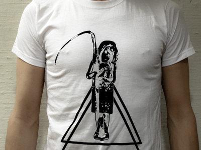 Reaper Girl T-shirt (white) main photo