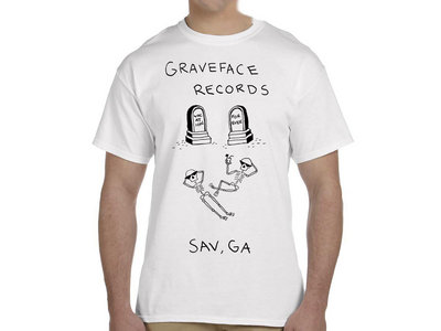 "Graveface ""Vacation Forever"" White Tee main photo"