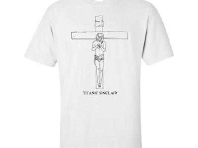 Jesus Texting Tee (white) main photo