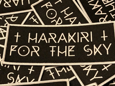 Harakiri For The Sky - Official Logo Patch main photo