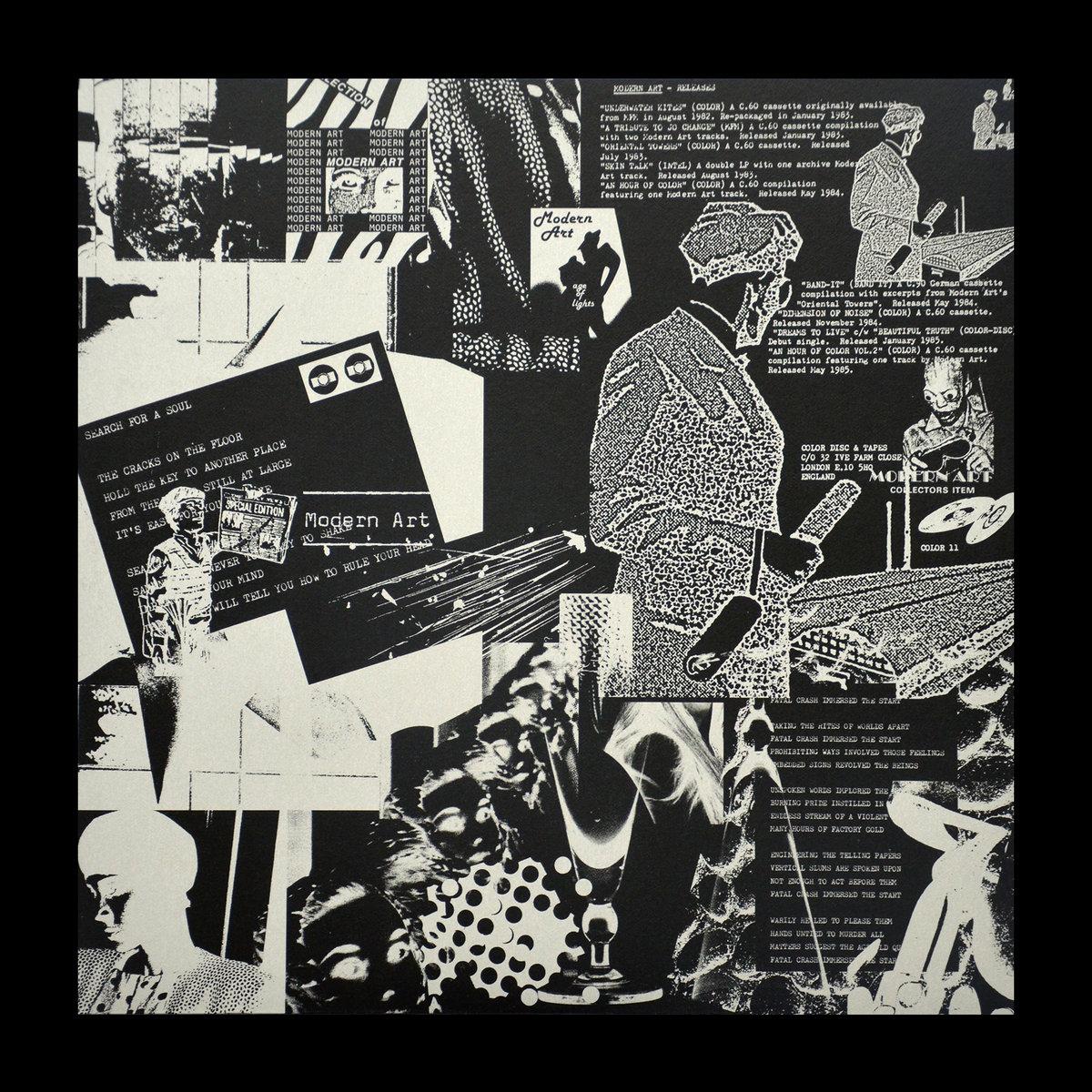 MODERN ART - \'\' CIRCUIT LIGHTS (1982-1986) \'\' 2011 REF.DOM01-L ...
