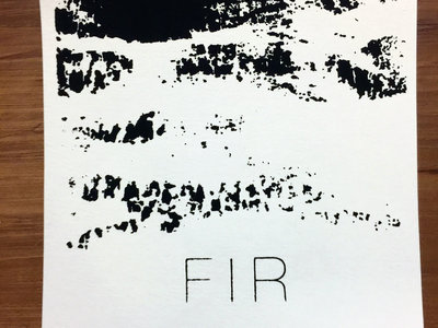 Fir Silk-Screened Print main photo