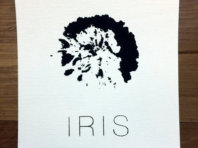 Iris Silk-Screened Print main photo