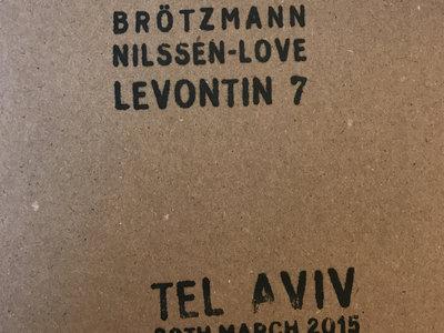 Tel Aviv 30th March 2015 – CD (D158976 8C) by Brötzmann / Nilssen-Love / Levontin 7 main photo
