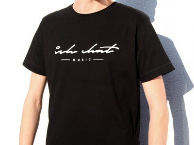 'Ish Chat Music' Logo T-Shirt (Black) + Stickers main photo