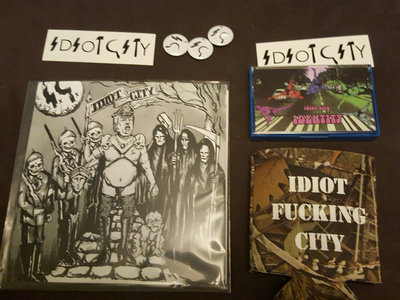 "Limited Edition 7"" + cassette + koozie package deal main photo"