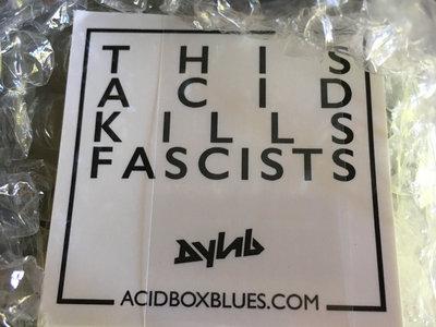 This Acid Kills Fascists Sticker Pack main photo