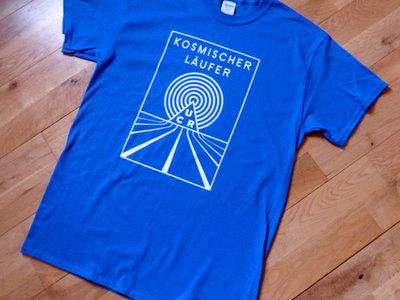Kosmischer Läufer Blue T-Shirt main photo