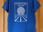 Kosmischer Läufer Blue T-Shirt photo