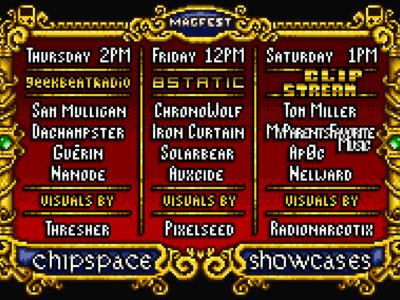 MAGFest 2017 Chipspace Showcase Flyer main photo