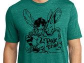 pixie druid T-shirt :: Spruce Green photo