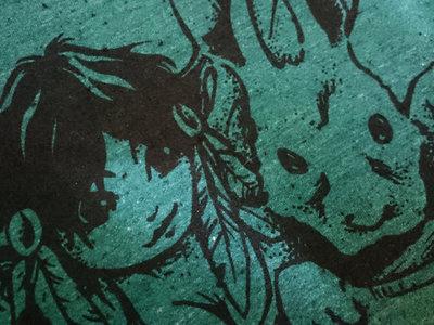 pixie druid T-shirt :: Spruce Green main photo