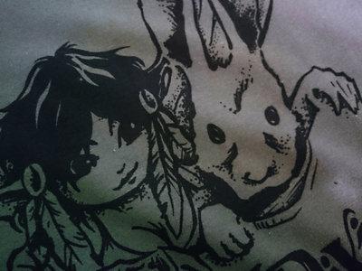 *CLEARANCE* pixie druid T-Shirt :: Dark Swamp Green main photo