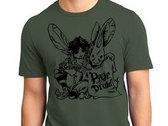 *CLEARANCE* pixie druid T-Shirt :: Dark Swamp Green photo