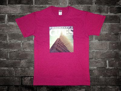 Prototyper - Cities - T-shirt red main photo