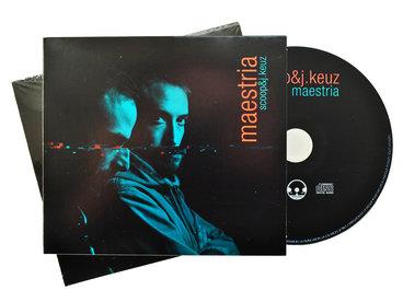 Scoop & J.Keuz - Maestria - CD main photo