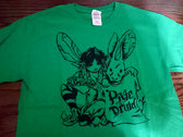 *CLEARANCE* pixie druid T-Shirt :: Antique Irish Green photo