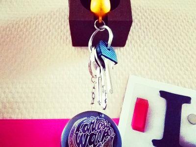 Keychain Bottle Opener/ Porte clés décapsuleur main photo