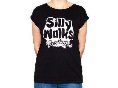 "Silly Walks Shirt ""Stencil"" Black (Woman) main photo"