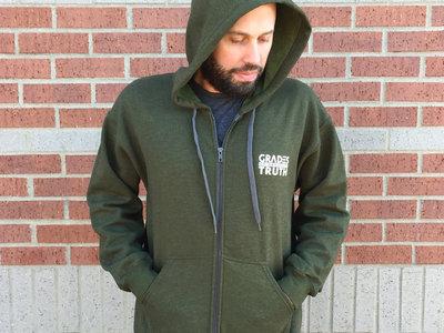 MicBulb: Green Hoodie main photo