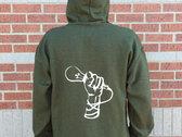 MicBulb: Green Hoodie photo