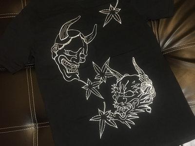 """Taki Tsan Tattoo t-shirt """" Hannya & Oni """" main photo"""