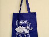 Pea-pod Kitty Tote Bag photo