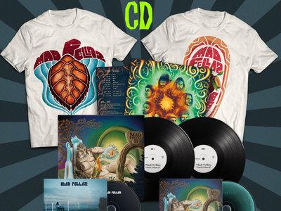 "2LP Vinyl ""Mad Fellaz II"" + 1 T-Shirt + 1 FREE Digipak main photo"